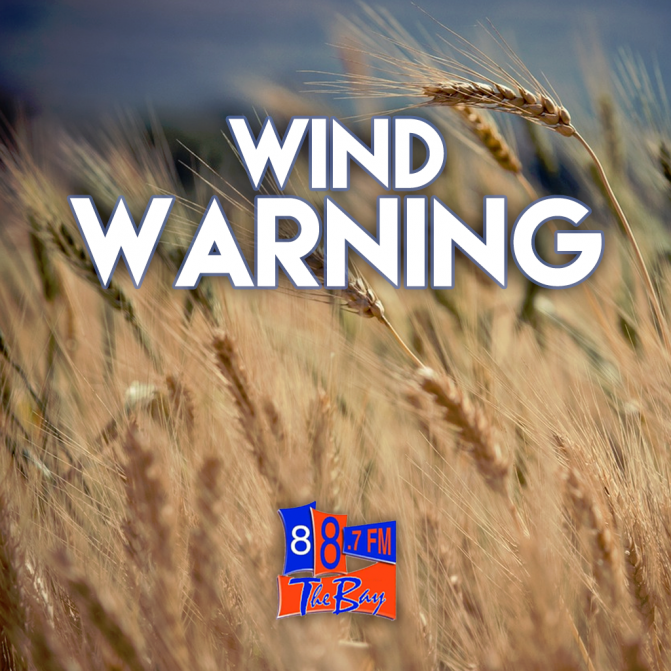 High Winds Expected Today And Overnight