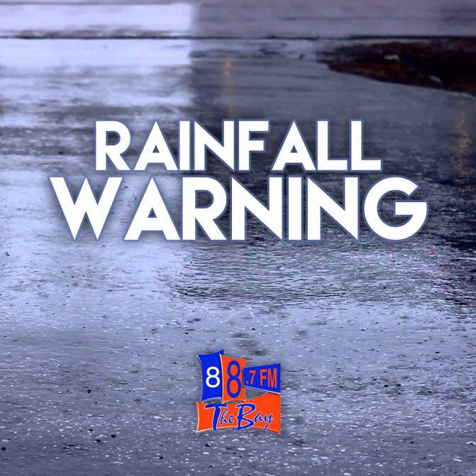 Freezing Rain & Rainfall Warnings In Effect